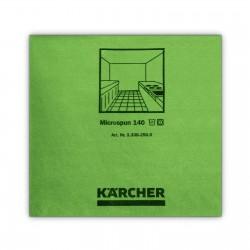 mikrofibra zielony gładkie włókno 37,5x38cm