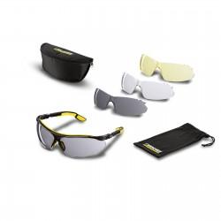 Okulary ochronne z zestawem 3 szybek